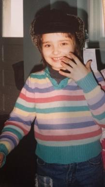 Carmen then @ HOH, age 8